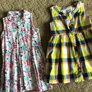 Gap, Carter's dresses. Size 3